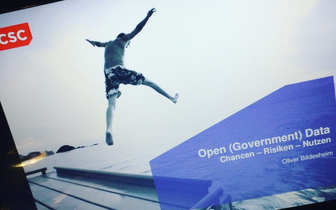 Open (Government) Data | Chancen – Risiken – Nutzen