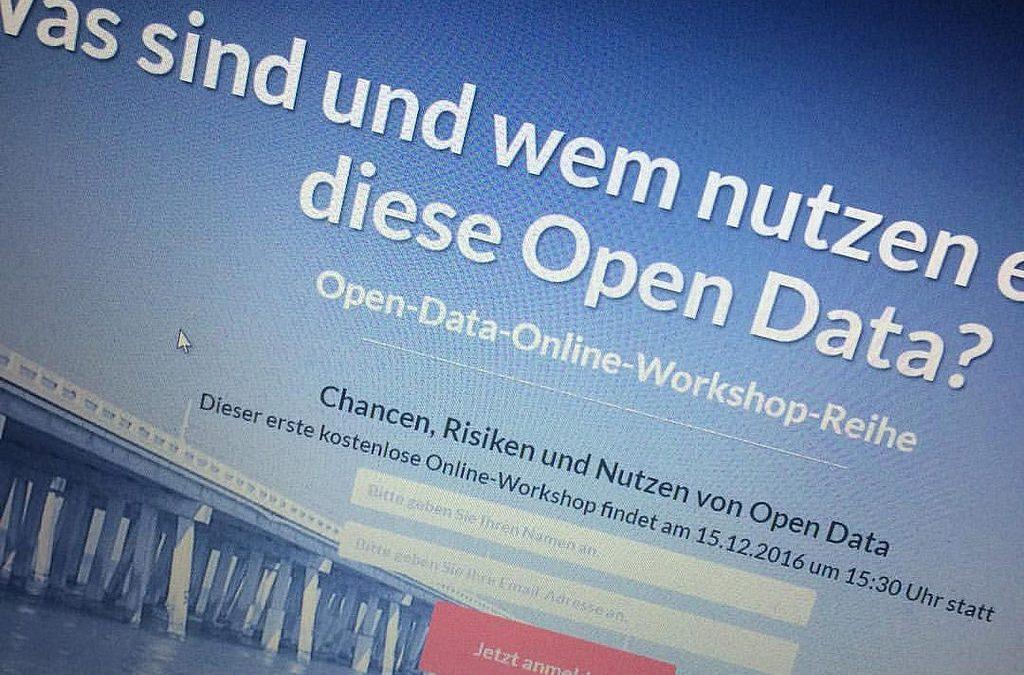 """Was sind und wem nutzen eigentlich """"Open Data""""?"""