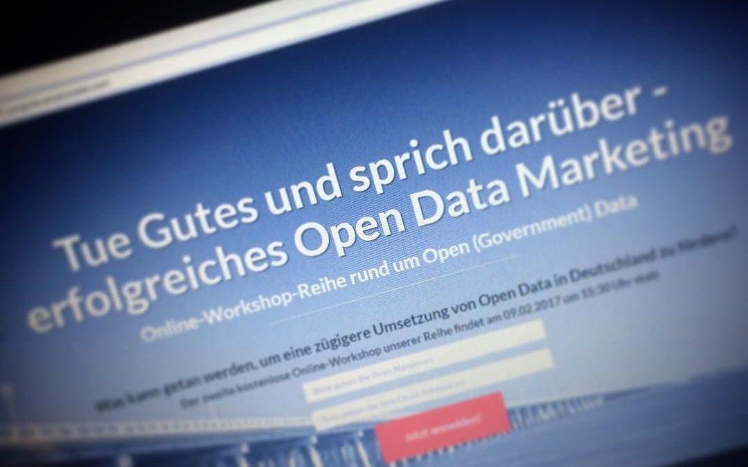 Tue Gutes und sprich darüber – erfolgreiches Open Data Marketing